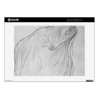 Costume study by Gustav Klimt Acer Chromebook Decals