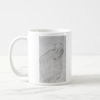 Costume study by Gustav Klimt Coffee Mug
