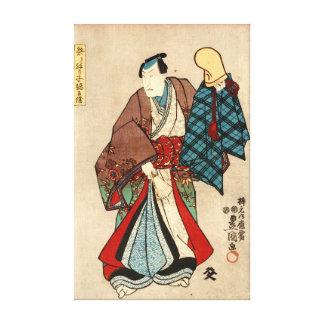 Costumed Actor 1848 Gallery Wrap Canvas