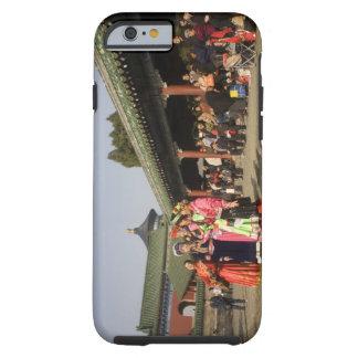 Costumed amateur folk dancers entertain tough iPhone 6 case