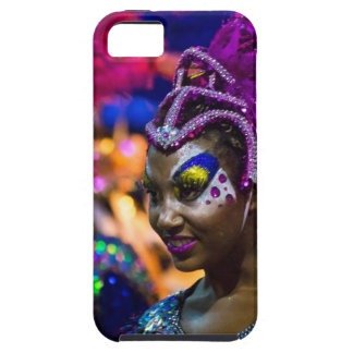 Costumed Attractive Dancer Woman at Carnival Parad iPhone SE/5/5s Case