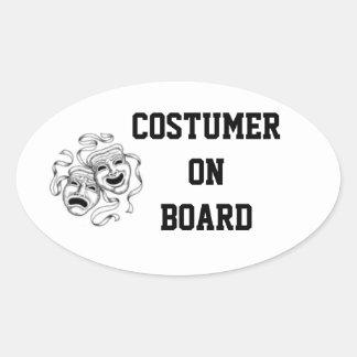 Costumer On Board Sticker
