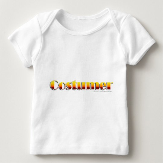 Costumer (Text Only) Baby T-Shirt