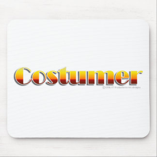Costumer (Text Only) Mouse Pad
