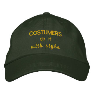 Costumers lo hace con estilo gorras bordadas