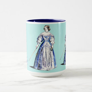~ COSTUMES ~ A Lady of Means ~ in 1636 ~ Mug