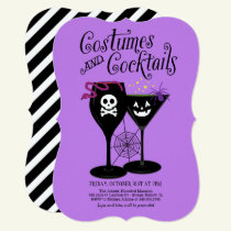 Costumes and Cocktails | Halloween Party Invitation