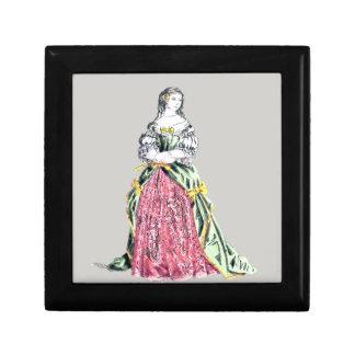 ~ COSTUMES ~ Comtesse de Grignan ~ 1663 ~ Keepsake Box