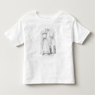 Costumes of cooks from different eras t-shirt