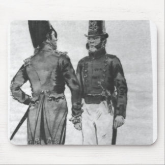 Costumes of French Marines from 1804 to 1814 Mouse Pad