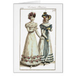Costumes Parisiens 1821 Fashion Plate Cards