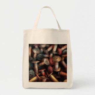 Costura - carretes bolsa tela para la compra