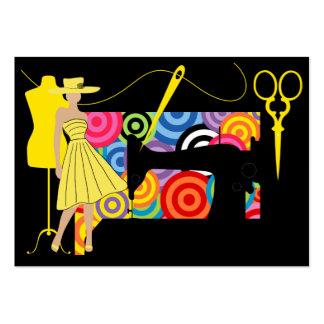 Costura/costurera/moda - SRF Tarjeta De Visita