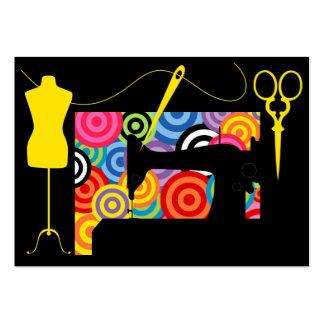 Costura/costurera/moda - SRF Tarjetas De Visita Grandes