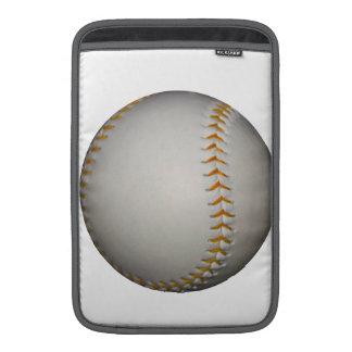 Costura del béisbol del softball w Orange Fundas MacBook