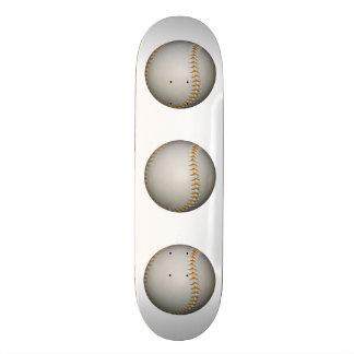 Costura del béisbol/del softball w/Orange Monopatines Personalizados