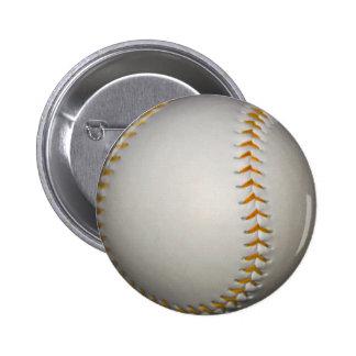 Costura del béisbol/del softball w/Orange Pins