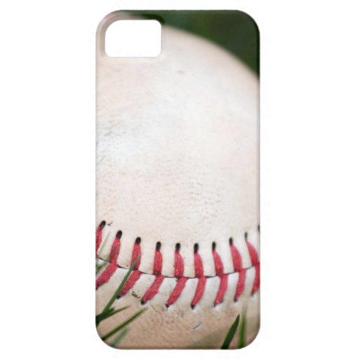 Costura del béisbol iPhone 5 fundas