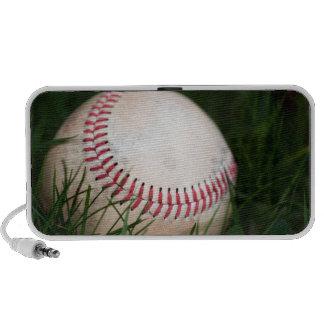 Costura del béisbol laptop altavoces