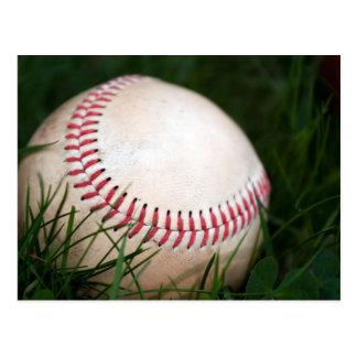 Costura del béisbol postal
