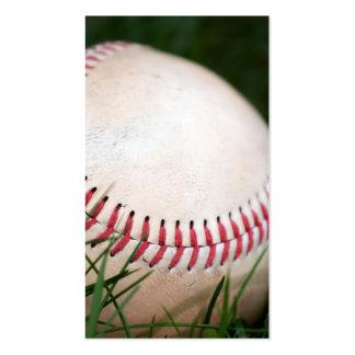 Costura del béisbol tarjetas de visita