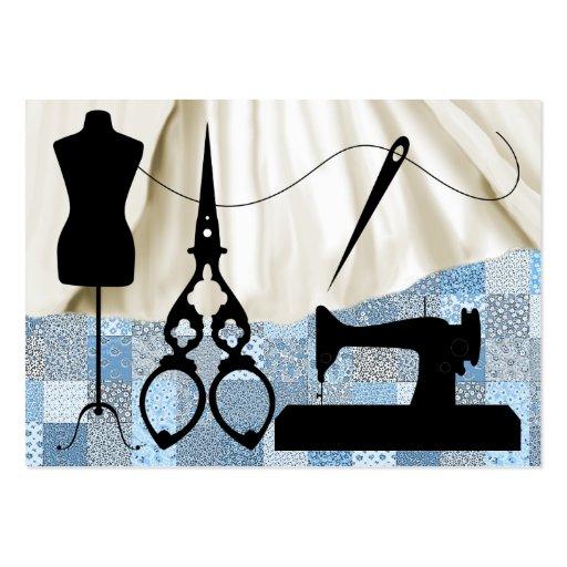 Costura/moda/costurera - SRF Plantillas De Tarjeta De Negocio