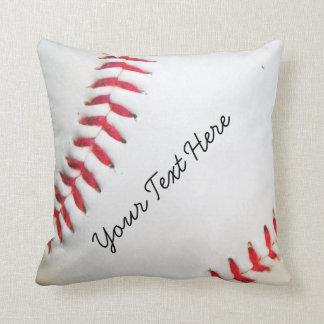 Costura roja personalizada del béisbol blanco de l