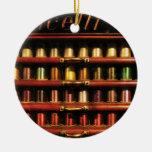 Costura - seda de Corticelli Ornamento De Navidad