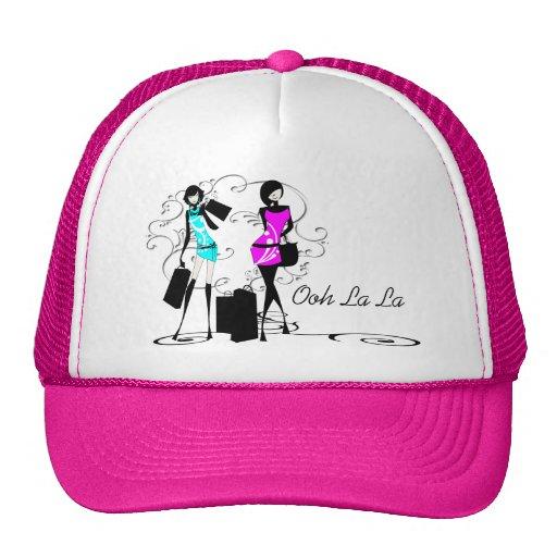 Costuras de la moda de los modelos de moda de los  gorra