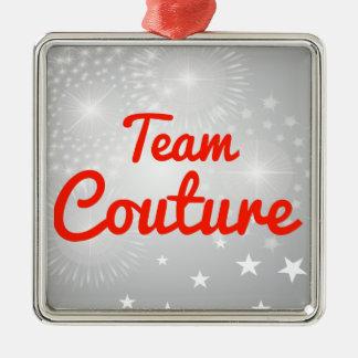 Costuras del equipo adorno