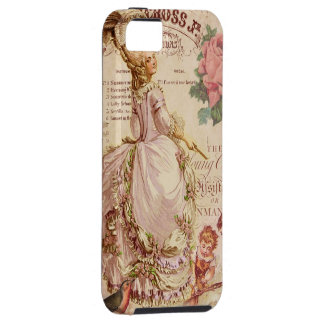 Costuras del Mademoiselle Funda Para iPhone SE/5/5s