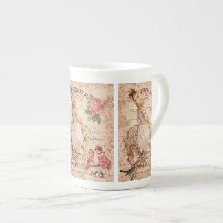 Costuras del Mademoiselle Taza De Porcelana