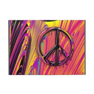 Costuras psicodélicas del hippy de la bandera anor iPad mini cárcasa