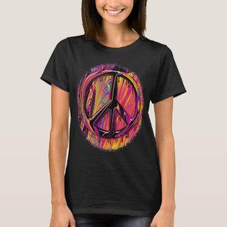 Costuras psicodélicas del hippy de la bandera playera