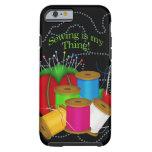 Costurera/caso/piel de costura del iPhone 6 Funda De iPhone 6 Tough