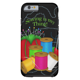 Costurera/caso/piel de costura del iPhone 6 Funda Resistente iPhone 6
