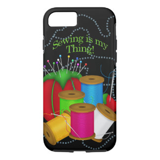 Costurera/caso/piel de costura del iPhone 7 Funda iPhone 7