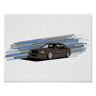 Cosworth 2.3-16v Poster