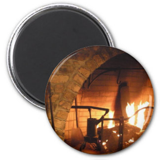 Cosy Fireplace Magnets