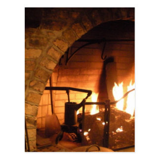 Cosy Fireplace Postcards