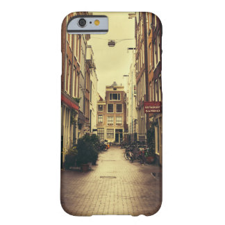 Cosy Street In Amsterdam, Retro Vintage Colors Barely There iPhone 6 Case