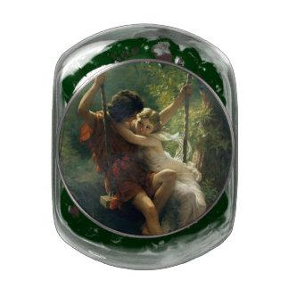 "Cot's ""Primavera"" art tins & jars Jelly Belly Candy Jar"