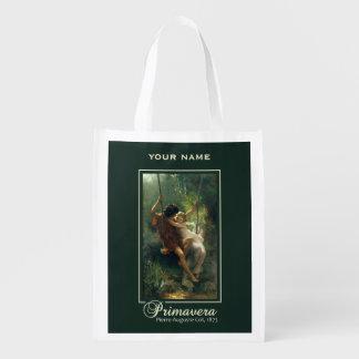 """Cot's """"Primavera"""" custom reusable bag"""