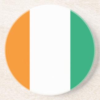 Côte d Ivoire Flag Coaster