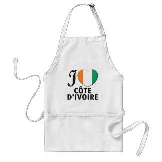 Cote d Ivoire Love Apron
