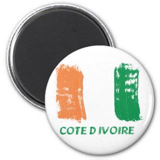 Cote D' Ivore Flag design Magnet