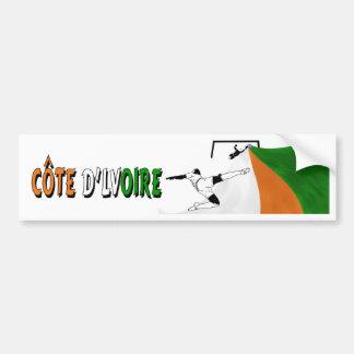 Côte d'Lvoire Bumper Sticker