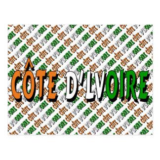 Côte d'Lvoire Postcard