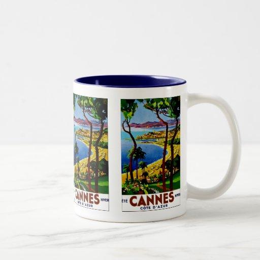 ~ Cote d'Azur de Cannes Taza