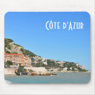 Côte d'Azur in Nice, France Mouse Pad
